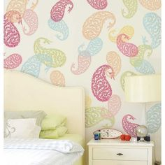 $12.95  - Jaipur Paisley Wall Art Stencil  Small  Indian Design Stencils  Reusable Stencils for Walls  DIY Home Decor  By Cutting Edge Stencils >>> To view further for this item, visit the image link. (This is an affiliate link) #WallStickersMurals
