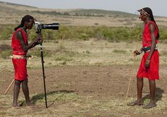 Massai photographer with Hasselblad! Kenya | Flickr - Photo Sharing!