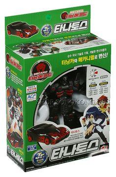 Turning Mecard Junior Jr. TANATOS Transformer Car Robot Korea TV Animation Toy #Sonokong