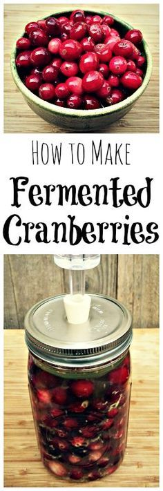 Add these probiotic and tasty cranberries to your holiday table!