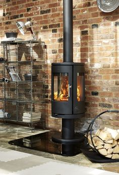 Danish designed wood burning stoves from Morso. Clean air, super efficient and low emissions. This range goes above and beyond the UK's emission standards and is Eco Design Ready Lounge Room Styling, Modern Farmhouse, Wood, Stove, Wood Burning, Pellet Stove, Hearth, Wood Burning Stove, Wood Stove