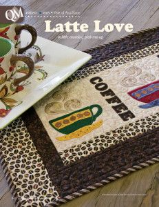 Free Embroidery Designs: Latte Love - I Sew Free