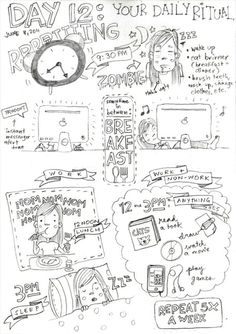 My life on night shift. Forgot to put exactly how much time I spend in front of the computer but, well… NOBODY NEEDS TO KNOW. So yeah,...