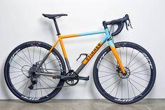 bikes&girls&macs&stuff - (via Custom Ti Stinner CX Romero   Headset Press)
