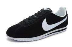 Rebatt Nike Cortez Yoth Schwarz Klassisch Weiß Schuhe