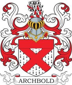 Archbold Family Crest and Coat of Arms