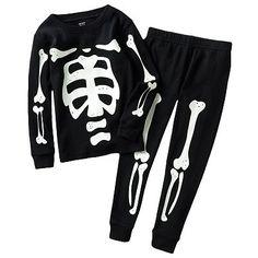 Skeleton pyjamas.