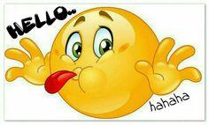 Hello ...hahaha ;) ❤