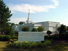Raleigh North Carolina Mormon Temple. © 2004, Leslie Gore Honeycutt. All rights reserved.