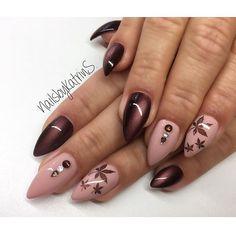 My work Der Herbst kann kommen #nails#nail#notd#nailart#naildesign#nailswag#nailporn#nageldesign#nailstagram#instanails#instanail#autumn#nailsalon#butterflynails#berlin#beauty#beautiful#nails2inspire#nailedit#nailsoftheday#nailsofinstagram#cateyenails#nailsbykatrins
