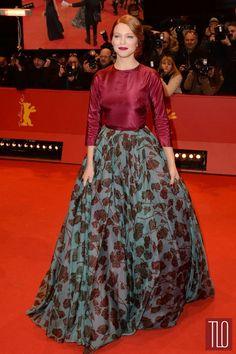 Lea Seydoux in Prada.