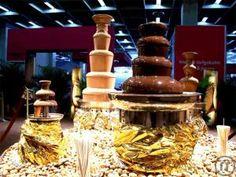 Schokoladenbrunnen in Salzburg, Kleiner Schokoladenbrunnen für Ihre Party mieten
