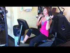 30 Days of Fat Loss--Day Recumbent Bike Intervals + Toned Arms Exercise Bike Reviews, Recumbent Bike Workout, Bicycle Workout, Cycling Workout, Lose Weight, Weight Loss, Lose Fat, Toned Arms, Fat Loss Diet