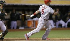Pujols drives in 5 runs to rally Angels past Athletics, 12-7 - THE WASHINGTON TIMES #Pujols, #Angels, #Athletics, #Sport