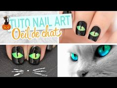 Nail art ♡ Paysage Halloween - YouTube