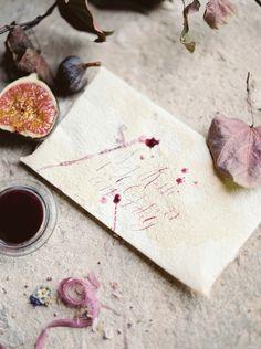 Signora e Mare handmade paper, Ginny Branch styling | Erich Mcvey