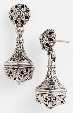 Konstantino 'Classics' Filigree Drop Earrings available at #Nordstrom