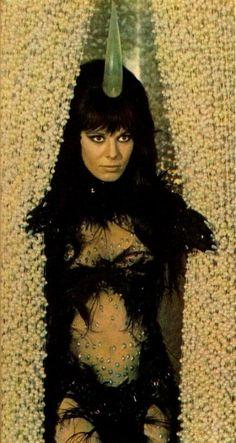 "room029:  Anita Pallenberg in""Barbarella"" - All Hail The Magic Conch"