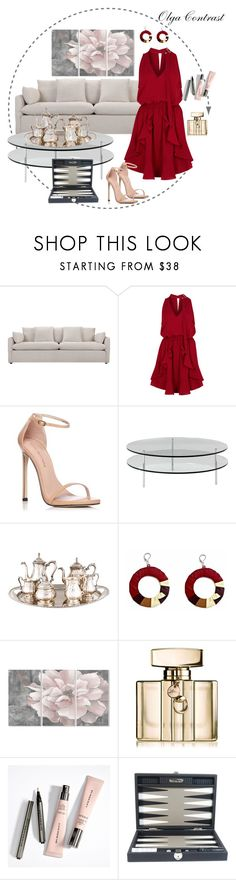"""""""08.08.2017"""" by olgacontrast on Polyvore featuring мода, Finders Keepers, Stuart Weitzman, SCP, Stupell, Gucci и Hector Saxe"""