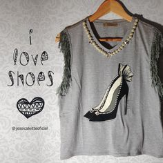 T-SHIRTS JÉSSICA LEITTE | I LOVE SHOES @jessicaleitteoficial