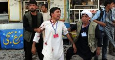 #Eyewitness to suicide bombing in #Kabul. 80 dead. Thoughts and prayers for dead & families:
