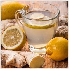 Ginger tea, ginger and turmeric recipe, healthy lifestyle Garlic Tea, Detox Recipes, Healthy Recipes, Healthy Drinks, Healthy Eating, Health And Wellness, Health Fitness, Natural Medicine, Natural Health