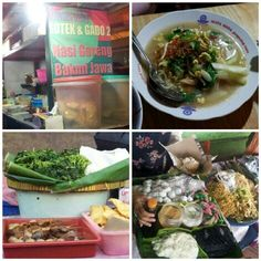 Jogja culinary, mie Jawa & nasi pecel