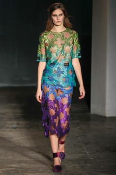 House of Holland | Fall 2014 Ready-to-Wear Collection | Love, as always