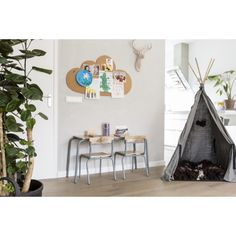 Kidsdepot Pure Tafel - Grey - afbeelding 3