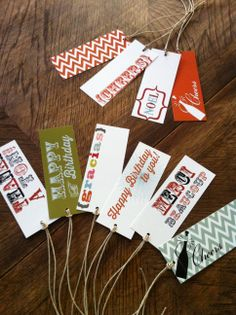 hang tags for all occasions
