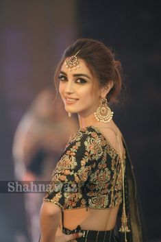 looked stunning in theses beautiful designer dresses in a latest event of a friend We at Mizz Noor presents these pictures for inspiration. Get inspired and let us create something like this with in your budget. Ready to attend your next or in ? Saree Hairstyles, Indian Wedding Hairstyles, Bride Hairstyles, Maya Ali, Bridal Outfits, Bridal Dresses, Bridal Hair Buns, Pakistani Bridal, Bengali Bride