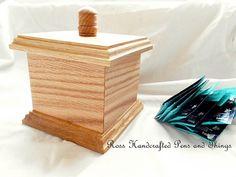 Oak Keepsake Box Handmade Wedding Gift by RossHandcraftedPens