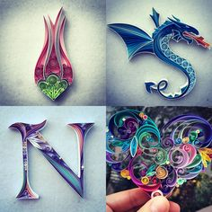 Istanbul-based artist Sena Runa first explored the craft of paper quilling three years ago while looking for a hobby to fill her spare time. Runa quickly discovered a talent for color and composition when working with paper and it wasn't long before she began selling pieces online. Her distinct quil