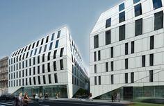 Projekt kompleksu Times II, który ma powstać na terenie dawnego parkingu przy ul. Ruskiej