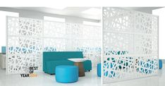 Portable partitions, if wall is desired. Can be custom designed. From LoftWall. Office Room Dividers, Sliding Room Dividers, Space Dividers, Office Walls, Office Screens, Desk Partitions, Portable Partitions, Small Room Divider, Wood Room Divider