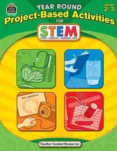 Year Round Project Based Activities For STEM Gr 2-3, Wondering how to incorporate science, technology, engineering, and math PLUS collaboration, critical thinking, problem solving, and digital literacy into the curriculum? You can do it with project-based learning.