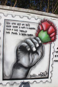 Os artistas estão na rua... Seixal! Abril também... as comemorações do 25 de Abril Art Series, Carnations, Urban Art, Deep Thoughts, Diy And Crafts, Teaching, Freedom, Tattoo, Education
