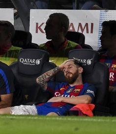 Messi, tres semanas de baja