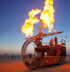 Burning Man : Une exposition photos à couper le souffle !
