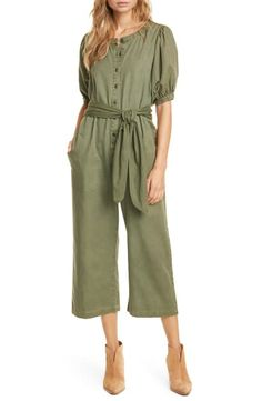 The Homeroom Cotton Jumpsuit ? The Homeroom Cotton Jumpsuit from the popular stores - all in one. Long Sleeve Silk Dress, Roll Neck Top, Cotton Jumpsuit, Taffeta Dress, Dye T Shirt, Wool Cardigan, Plus Size Blouses, Nordstrom, Clothes For Women