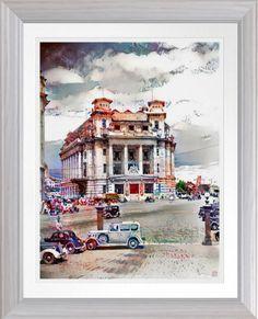 Singapore Art, Poster Prints, Art Prints, Custom Posters, Corner Designs, Post Office, Watercolor Print, Custom Framing, Online Art Gallery