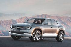 VW Cross Coupe Dieselhybrid: SUV mit weniger als zwei Litern Verbrauch