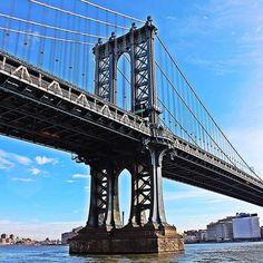 The #magic #world of #nyc #newyork - part 31 - the #manhattan #bridge in all its splendor. by davidkparker
