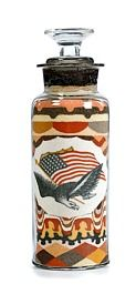 Andrew Clemens - Patriotic Sand Bottle.  I'm kind of obsessed with the colors, design and the artistry that must have gone into these.