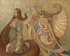 """""""THE  MESSENGER"""" ~ INDRIKoff.deviantart.com on @deviantART ~ Miks' Pics """"Boris Indrikov"""" board @ http://www.pinterest.com/msmgish/boris-indrikov/"""