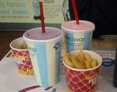 2 shakes and 2 fries