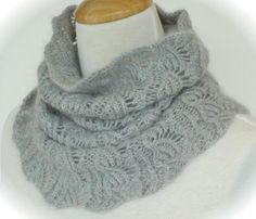 Knitting Ideas | Project on Craftsy: Flared Lace Smoke Ring