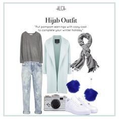 Best outfit to wear for winter holiday! Modesty Fashion, Hijab Fashion, Fashion Outfits, Fashion Ideas, Fashion Tips, Women's Fashion, Hijab Outfit, Dress Outfits, Ootd Hijab