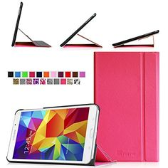 Fintie Samsung Galaxy Tab 4 7.0 (7-Inch) Smart Book Cover Case - Ultra Slim Light Weight Stand Supports Three...