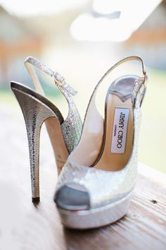 30 Best Silver Wedding Shoes and Glass Slippers images  d22012304a1e